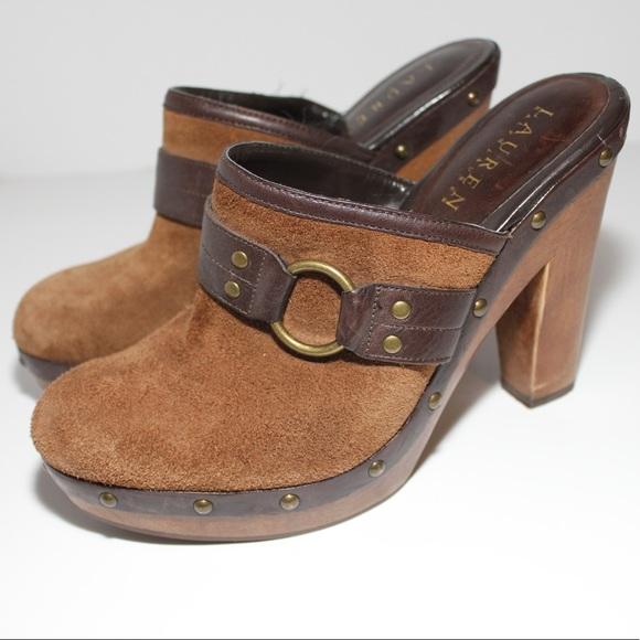 Buy Cheap Countdown Package Brand New Unisex Cheap Online Ralph Lauren Leather Mules & Clogs Cheap Sale Extremely Countdown Package Cheap Price Great Deals dODs0QEt